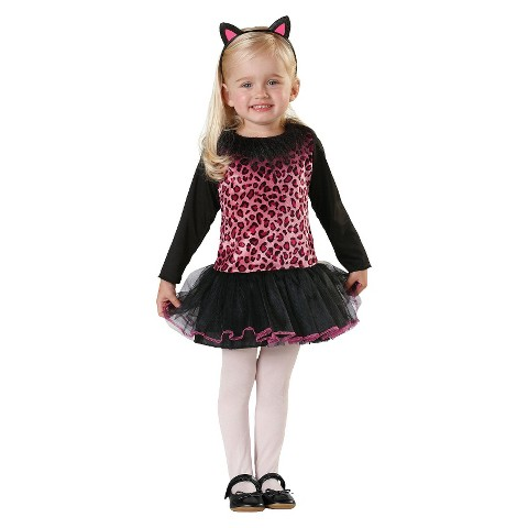 Toddler Sweet Kitty Costume 2T-4T