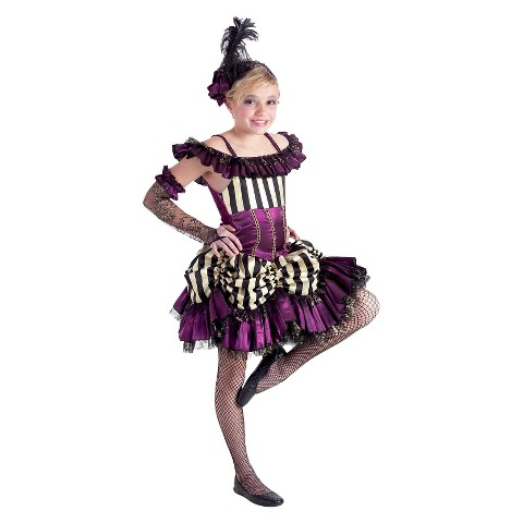Girl's Can Can Sally Costume