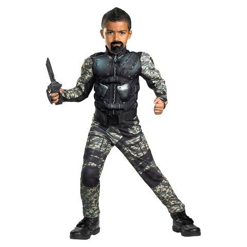 Boy's G.I. Joe Retaliation Roadblock Classic Muscle Costume