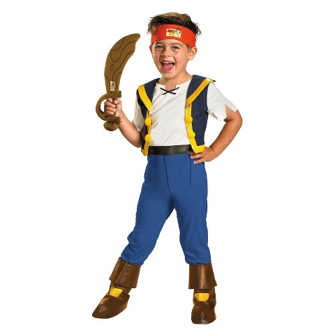 Boy's Jake and the Neverland Pirates Deluxe Jake Costume