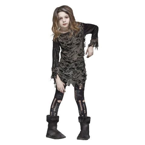Girl's Living Dead Costume