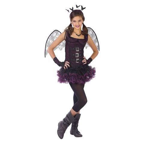 Girl's Night Wing Bat Costume