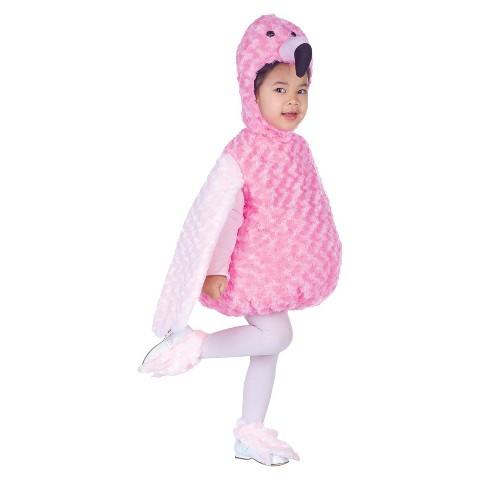 Girl's Flamingo Costume - Small (4-6)