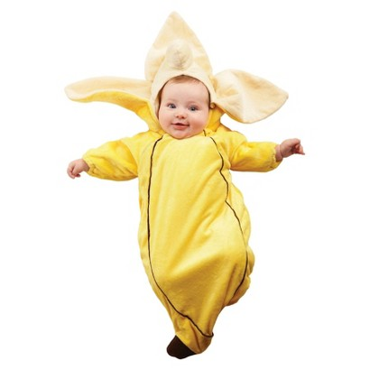 Infant Banana Bunting Costume - XS