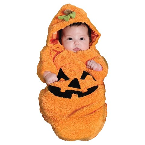Infant Pumpkin Bunting Costume - XS