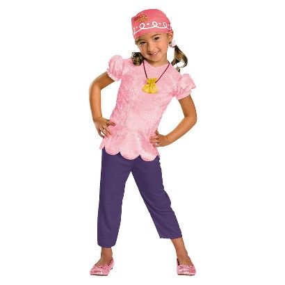 Toddler/Girl's Disney Jake And The Neverland Pirates Izzy Classic Costume