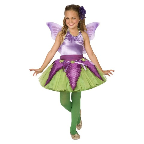Girl's/Tween Flower Fairy Costume