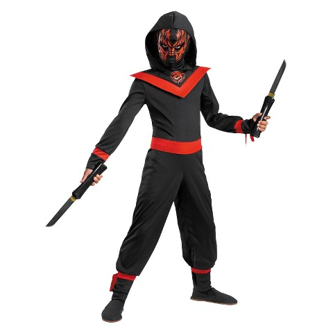 Boy's Neon Ninja Costume