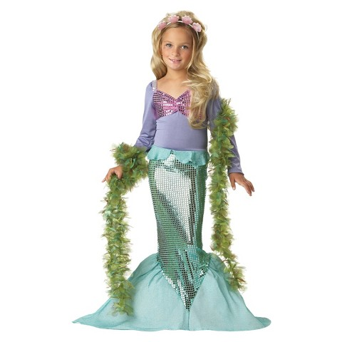Toddler/Girl's Lil' Mermaid Costume