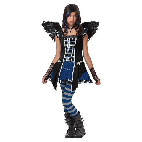 Tween Girl's Raven Costume