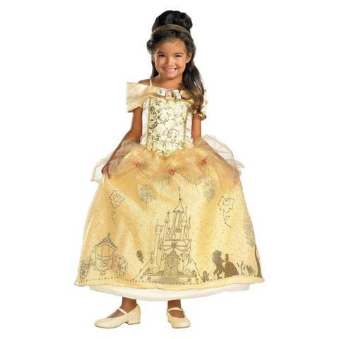 Toddler/Girl's Disney Storybook Belle Prestige Costume
