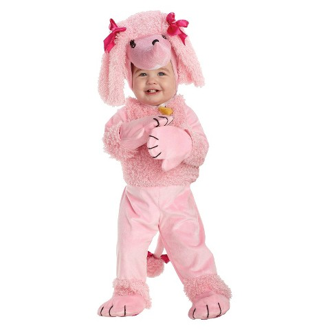 Girl's Poodle Costume - Small (4-6)