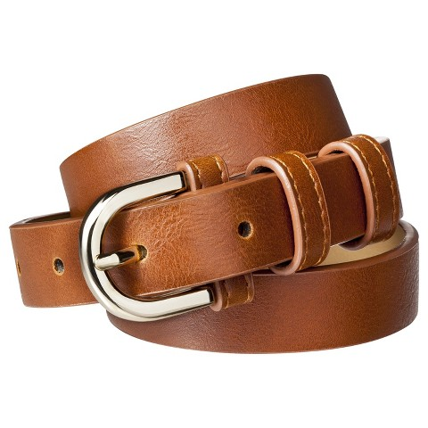 s merona 174 modern dress belt brown target