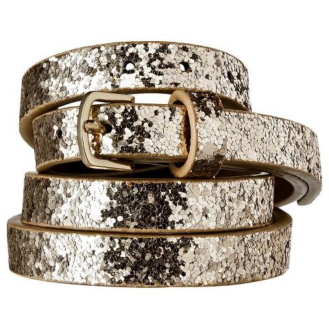 Women's Patent Skinny Belt - Merona™