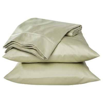 Performance 400 Thread Count Sheet Set Pale Willow - (Queen) - Threshold™