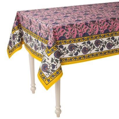 "Boho Boutique™ Agyness Rectangle Tablecloth - 52""x70"""
