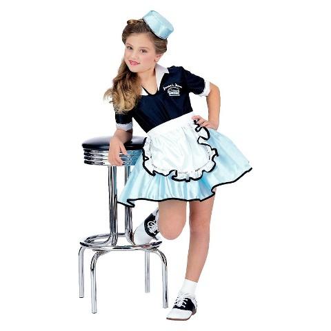 Girl's Car Hop Costume