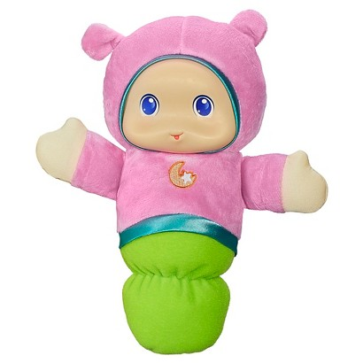 Playskool Play Favorites Lullaby Gloworm Toy - Pink