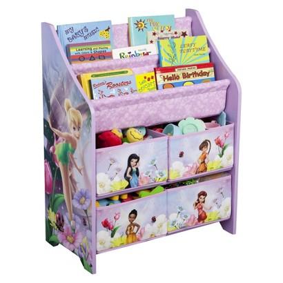 Delta Children's Products Book and Toy Organizer - Fairies
