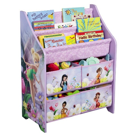 Delta Children's Products Book and Toy Organizer - Fairies