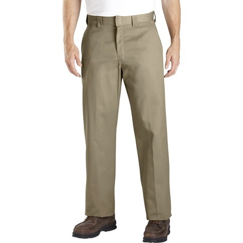 Dickies® Men's Relaxed Straight Fit Twill Pants