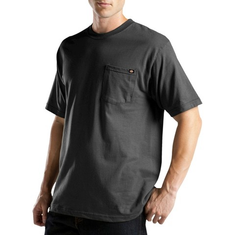 Dickies® - Men's Big & Tall Cotton/Poly Short Sleeve Wicking Pocket T-Shirt