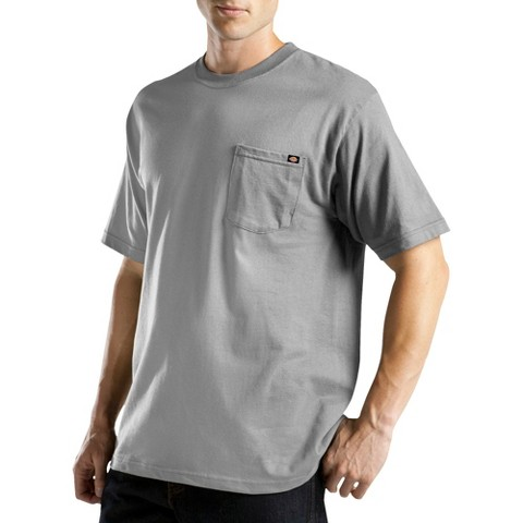 Dickies® Men's Cotton/Poly Short Sleeve Wicking Pocket Tee