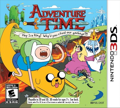 Adventure Time: Hey Ice King (Nintendo 3DS)