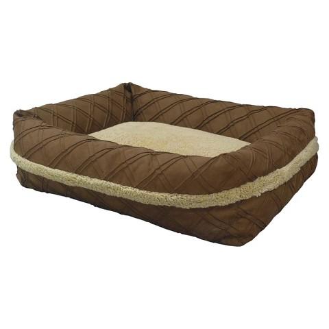 "Canine Creations Sandbox Pet Bed - Chocolate (37x31"")"