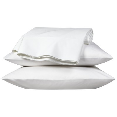 Egyptian Cotton 800 Thread Count Flat Sheet - Queen (White) - Fieldcrest™