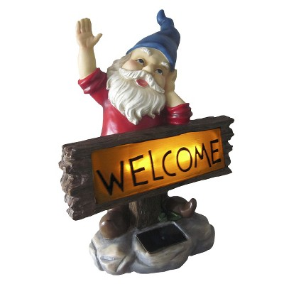 ECOM Solar Welcome Gnome