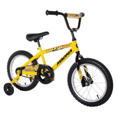 "16"" Magna Boys Major Damage Bike - Yellow"