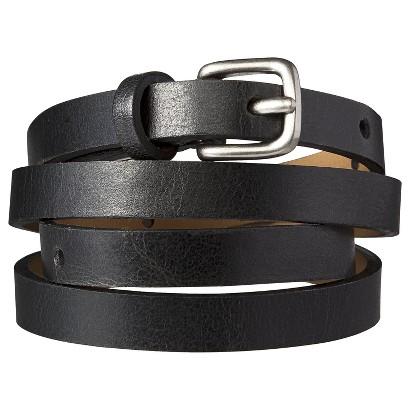 Merona® Skinny Belt - Black
