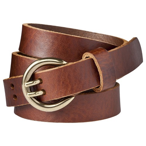Merona® Double Prong Jean Belt - Brown