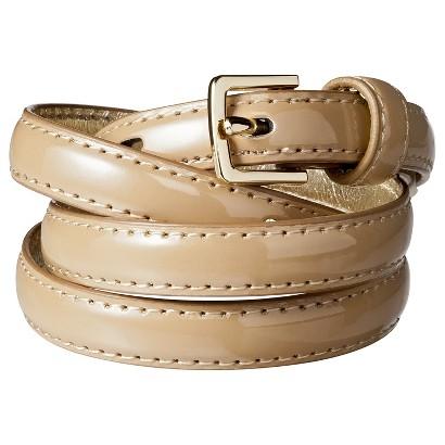 Merona® Color Skinny Belt - Tan