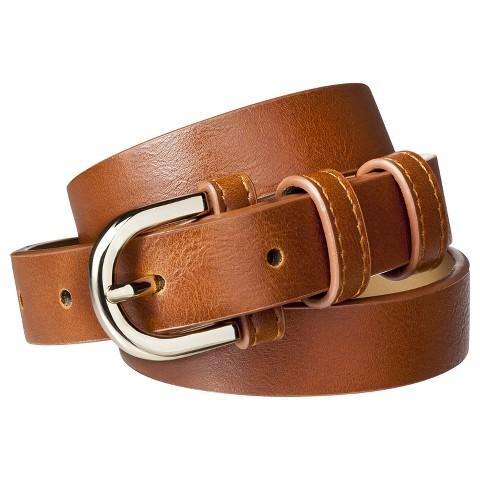 Merona® Modern Dress Belt - Brown