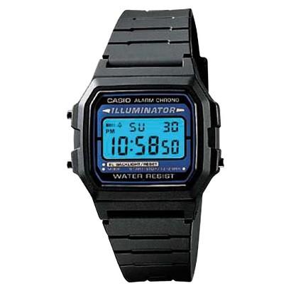 Casio Men's Basic Digital Watch - Black - F105W-1A