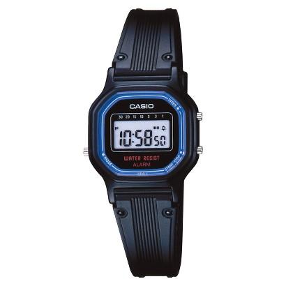 Casio Women's Basic Digital Watch - Black - LA11WB-1