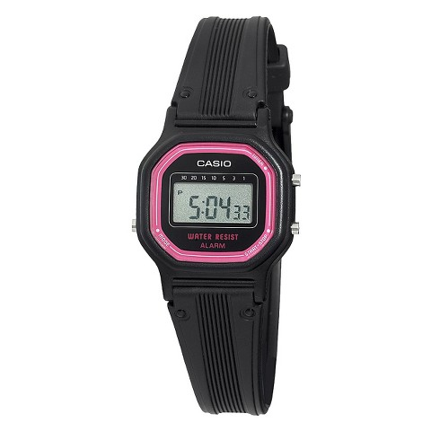 Casio Women's Basic Digital Watch - Black - LA11WB-4
