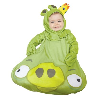 Infant Angry Birds King Pig Bunting Costume 12-18 months
