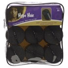 Conair Hype Hair Satin Covered Foam Rollers - 9 count