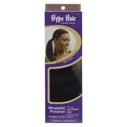 Conair Hype Hair Faux Hair - Wrapped Ponytail