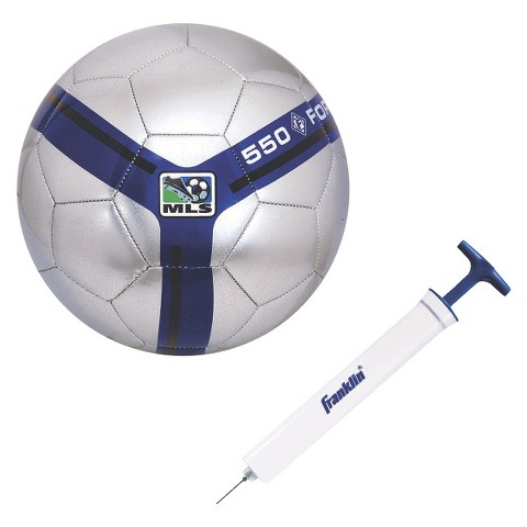 Franklin Sports MLS Size 3 Soccer Ball with Pump