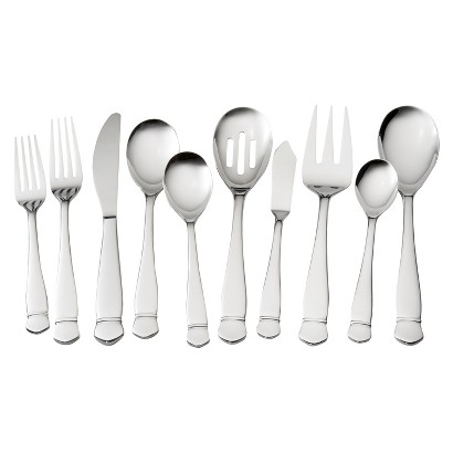 Threshold™  45 Piece Paloma Mirror Flatware Set