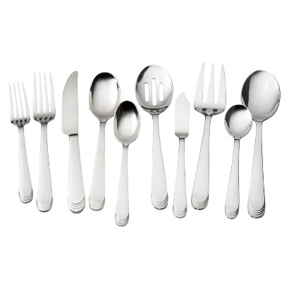 Threshold™ 45 Piece Effie Mirror Silverware