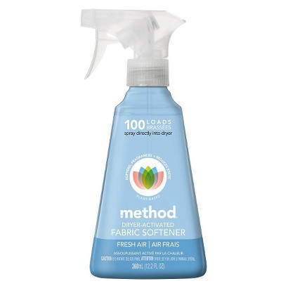 Method Fresh Air Dryer Activated Fabric Softener 12 oz