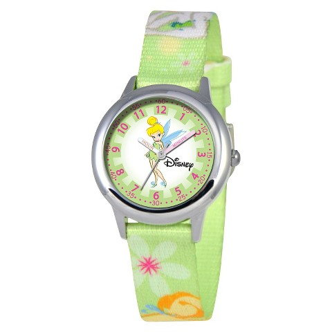Disney Tinker Bell Kids Watch - Green