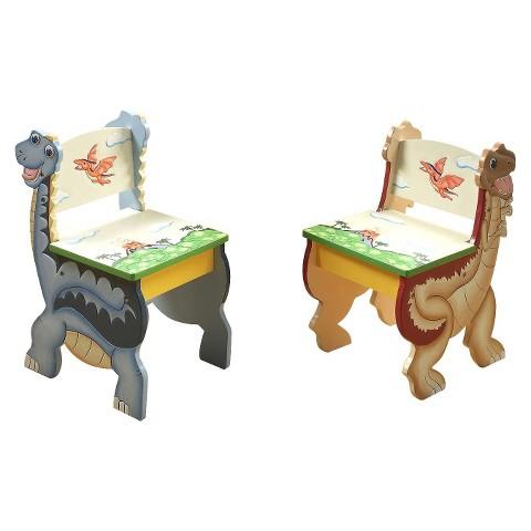 Teamson Kids -  Dinosaur Kingdom Set of 2 Chairs