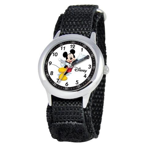 Disney® Kids Mickey Mouse Watch - Black