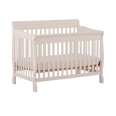 Stork Craft Modena 4-in-1 Fixed Side Convertible Crib